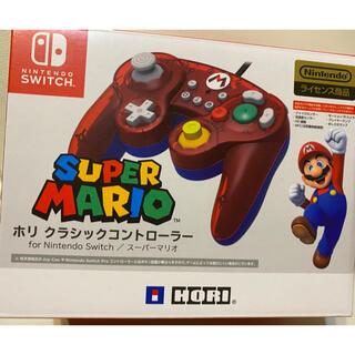 任天堂 - ホリ クラシックコントローラーfor Nintendo switch マリオ