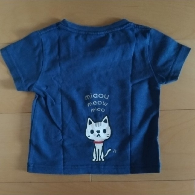 LAUNDRY(ランドリー)の美品です✴laundry ランドリー ネコ Tシャツ キッズ/ベビー/マタニティのキッズ服男の子用(90cm~)(Tシャツ/カットソー)の商品写真