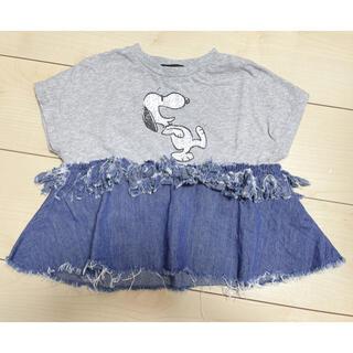 マーキーズ(MARKEY'S)のスヌーピー Tシャツ 95(Tシャツ/カットソー)