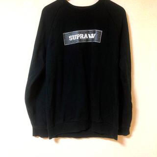 スープラ(SUPRA)のSUPRA スウェット トレーナー(パーカー)