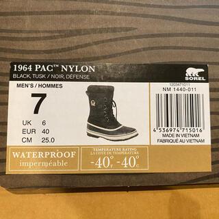 ソレル(SOREL)のSORELの1964パック NYLON 防水ブーツ 25cm(ブーツ)