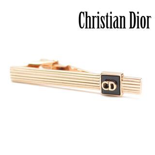 クリスチャンディオール(Christian Dior)のクリスチャンディオール CDロゴ ゴールド ネクタイピン(ネクタイピン)