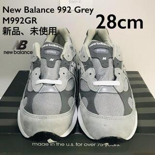 New Balance 992 Grey M992GR 28cm(スニーカー)