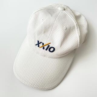 ダンロップ(DUNLOP)のゼクシオ ダンロップ ゴルフキャップ XXIO メッシュキャップ ホワイト 帽子(キャップ)