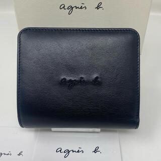 agnes b. - agnes b.  voyage アニエスベー 二つ折り財布 ブラック 黒