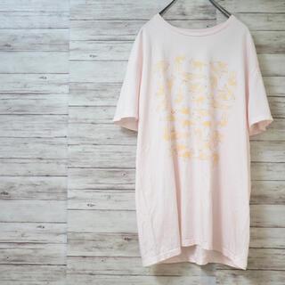 メゾンキツネ(MAISON KITSUNE')のMAISON KITSUNE 総柄キツネTee(Tシャツ/カットソー(半袖/袖なし))