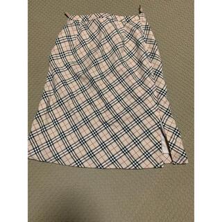 バーバリー(BURBERRY)の最終値下げBurberry チェックスカート(ひざ丈スカート)