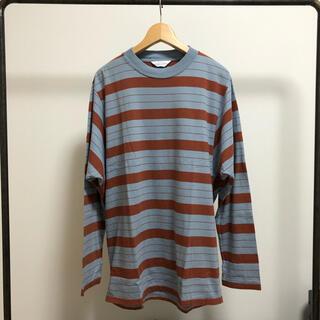アンユーズド(UNUSED)のUNUSED ボーダーTシャツ(Tシャツ/カットソー(七分/長袖))