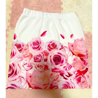 MA*RS - ▼MARS タイトスカート 花柄 バラ マーズ