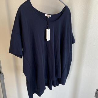 ロンハーマン(Ron Herman)のデミリー 紺 コットンTシャツ(Tシャツ(長袖/七分))