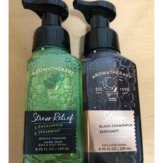 バスアンドボディーワークス(Bath & Body Works)の新品、未使用 Bath&Body Works 2本(ボディソープ/石鹸)