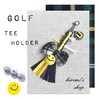 パーリーゲイツ(PEARLY GATES)のゴルフ ティーホルダー リボンニコちゃん スカート ベルト カートバッグ に❣️(ウエア)