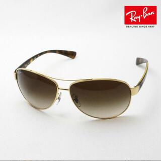 レイバン(Ray-Ban)のRay-Ban RB3386 00113メンズ 大きいティアドロップ ゴールド系(サングラス/メガネ)
