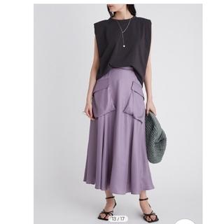Mila Owen - 新品タグ付 今季 ミラオーウェン ポケットデザインフレアスカートsize1