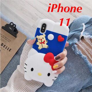ハローキティ - ★訳あり大特価★サンリオ ハローキティ iPhone11ケース