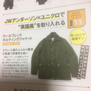 ユニクロ(UNIQLO)のウールブレンドキルティングジャケット JWアンダーソン×ユニクロ(ブルゾン)