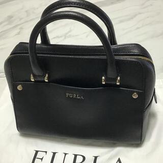 Furla - 美品 FURLA ハンドバッグ 黒