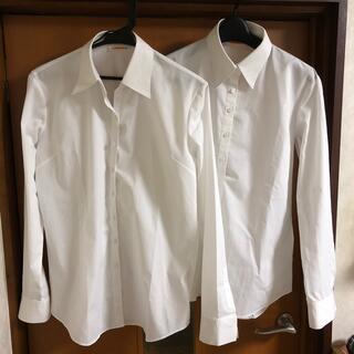 アオヤマ(青山)の洋服の青山 IMGN  レディースシャツ2枚セット‼️(シャツ/ブラウス(長袖/七分))