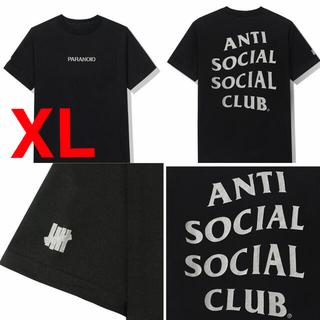 XLサイズ ASSC UNDEFEATED Tシャツ ブラック(Tシャツ/カットソー(半袖/袖なし))