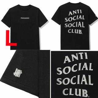 Lサイズ ASSC UNDEFEATED Tシャツ ブラック(Tシャツ/カットソー(半袖/袖なし))