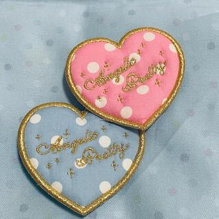 アンジェリックプリティー(Angelic Pretty)のLove Heartドットクリップ(バレッタ/ヘアクリップ)