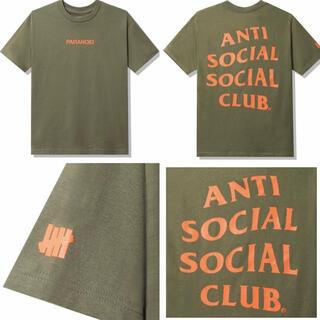 XLサイズ ASSC UNDEFEATED Tシャツ オリーブ(Tシャツ/カットソー(半袖/袖なし))