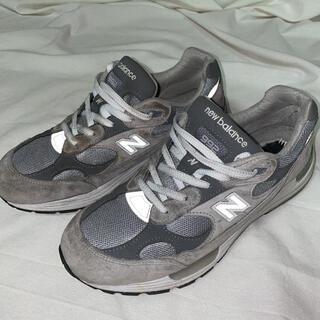 ニューバランス(New Balance)の【New Balance】992 gray/grey 26.5(スニーカー)
