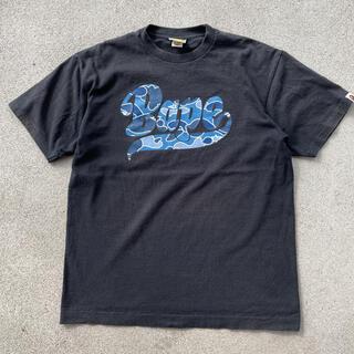 アベイシングエイプ(A BATHING APE)の90s 古着 a bathing ape エイプ ロゴ tシャツ(Tシャツ/カットソー(半袖/袖なし))