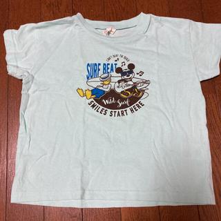 サマンサモスモス(SM2)の最終値下げ サマンサモスモス Lagom ミッキーサーフTシャツ(Tシャツ/カットソー)