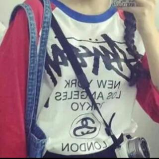 ステューシー(STUSSY)の新品未使用 7分丈Tシャツ STUSSY(Tシャツ(長袖/七分))