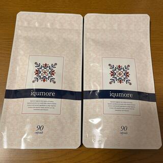 イクモア サプリメント 90錠 2袋(ヘアケア)