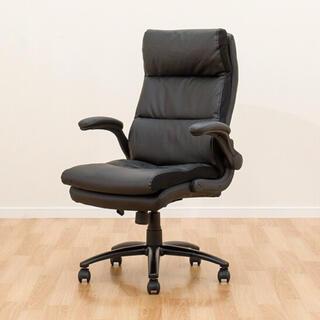 ニトリ(ニトリ)の社長椅子 オフィスチェア パソコンチェアワークチェア(クロウド BK)(デスクチェア)