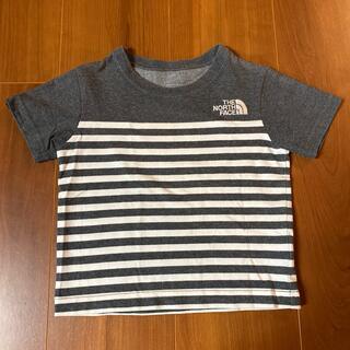THE NORTH FACE - ストライプ ノースフェイスキッズ Tシャツ100