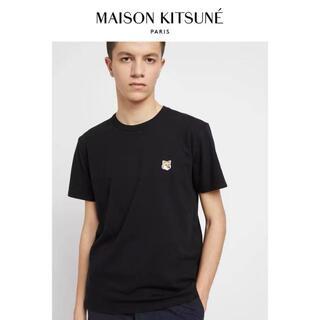 メゾンキツネ(MAISON KITSUNE')のMAISON KITSUNEメゾン キツネ ダブルフォックスヘッド TシャツL(Tシャツ/カットソー(半袖/袖なし))