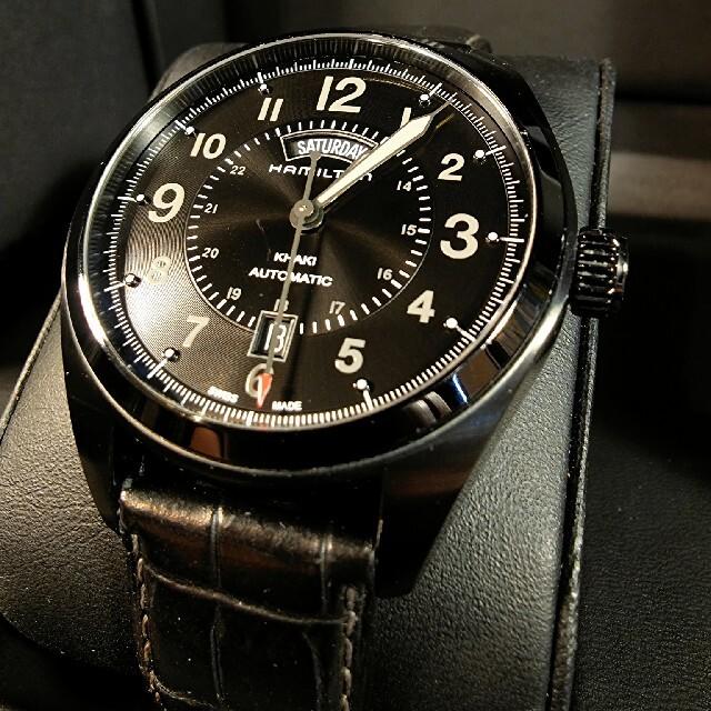 Hamilton(ハミルトン)のコレクション放出中 Hamilton khaki field automatic メンズの時計(腕時計(アナログ))の商品写真