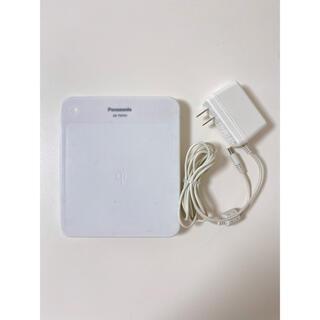 パナソニック(Panasonic)のPanasonic 無接点充電パッド QE-TM101 白(バッテリー/充電器)