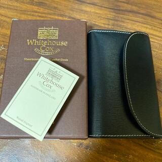 ホワイトハウスコックス(WHITEHOUSE COX)の【美中古】White house cox 三つ折財布(折り財布)