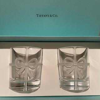 Tiffany & Co. - ティファニー ボウグラスセット 新品未使用