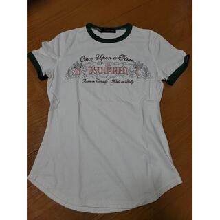 ディースクエアード(DSQUARED2)のDSQUARED2 レディースS 難有!(Tシャツ(半袖/袖なし))