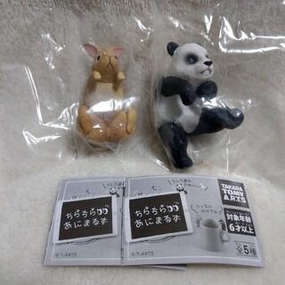 タカラトミー(Takara Tomy)のちらちらあにまるず ウサギ パンダ(ぬいぐるみ)