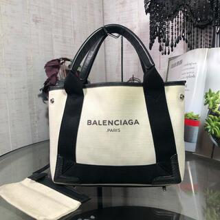 Balenciaga - BALENCIAGA ネイビーカバ XS バレンシアガ ハンドバッグ