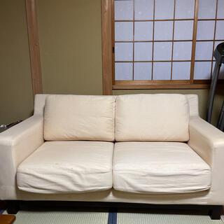 ニトリ(ニトリ)のソファ 2人掛け ニトリ IKEA カリモク レザー ソファー(二人掛けソファ)