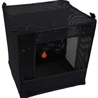 シューティング ターゲットボックス 折り畳み式 回収不要 射撃 (ブラック) ②(その他)