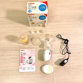 ピジョン(Pigeon)のピジョン 電動搾乳機 Pigeon 母乳育児 さく乳器母乳アシスト 出産準備(哺乳ビン)