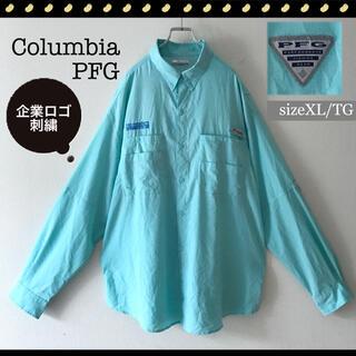 Columbia - コロンビアPFG★パフォーマンスフィッシングギア★ポリエステルシャツ★サイズXL