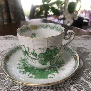 ヘレンド(Herend)のヘレンド インドの華 カップ&ソーサー(食器)