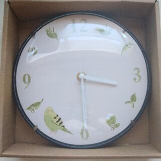 【新品】セキセイインコ壁掛け時計  インコ 文鳥