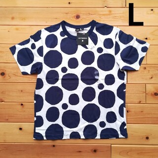 マリメッコ(marimekko)のLサイズ マリメッコ  marimekko Tシャツ  ユニクロ 半袖 水玉(Tシャツ(半袖/袖なし))