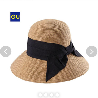 ジーユー(GU)のジーユー gu  麦わら帽子 GU(麦わら帽子/ストローハット)