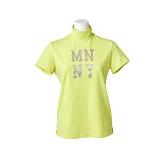 Munsingwear - マンシングウェア⭐︎新品未使用品ベア天竺光沢プリントハイネックモックネックシャツ